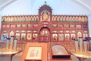 Иконостас Успенского собора Зилантовой обители