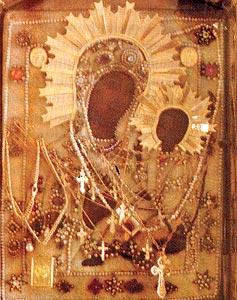 Чудотворный список Грузинской иконы Божией Матери