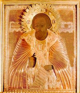 Чудотворный образ прп. Сергия Радонежского (из Свияжского Иоанно-Предтеченского монастыря)