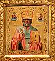 Образ свт. Николая, архиепископа Мир Ликийских, чудотворца. Храм Казанской ДС