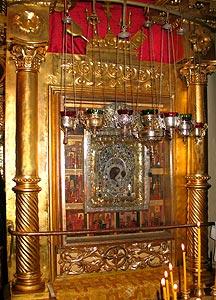Чудотворный список Казанской иконы Божией Матери.