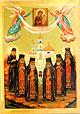 Образ преподобномучеников Раифских