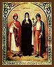 Образ свв. блгв. кнн. Феодора, Давида и Константина Ярославских, чудотворцев.