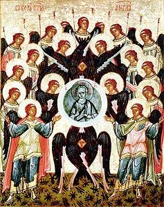 Образ Собора архистратига Михаила
