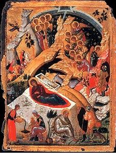 Образ Рождества Христова.