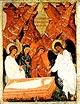 Образ явление ангелов свв. женам-мироносицам