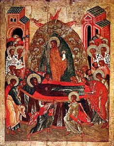 Образ Успения Пресвятой Богородицы