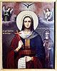 Образ св. мц. Параскевы, нареченной Пятница